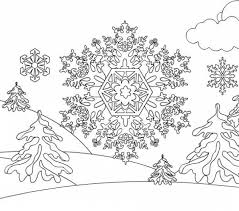 Small Picture 75 best iColor Snowflakes images on Pinterest Coloring books