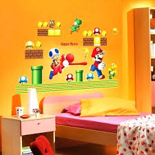 nintendo wall stickers super decals decal cartoon sticker for kids room and nintendo wall stickers