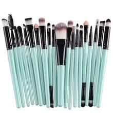 20pcs professional makeup brush sets eye eaby amazon sell like hot cakes cosmetics soft synthetic hair