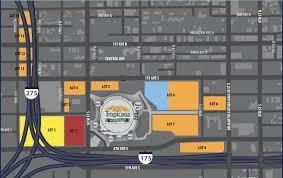 Tropicana Field Parking Guide Tips Maps Deals Spg