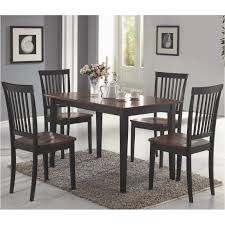 150153 Coaster Furniture Oakdale - Dark/cherry Dining Room Dinette Table 5 Pc Set