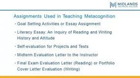 metacognitive essay example selected essays ts eliot is best metacognitive essay example