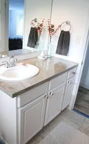 diy bathroom countertop ideas. simple concrete countertops tutorial. diy bathroom countertop ideas i