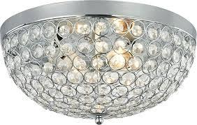 flush mount chandelier inch crystal ceiling light fixture in polished chrome flush mount chandelier shades of