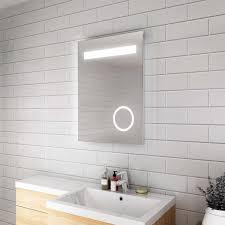 Wall Mirror With Lights Hot Item Illuminated Smart Led Light Bathroom Mirror With Lights Defogger Mirror