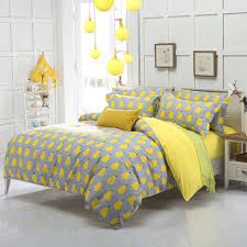 yellow queen bedding. Fine Yellow New Arrival Quality Polyester Pear Yellow Queen Twin Full Bedding Bed Sheet  Set Bedclothes Duvet Cover Setin Bedding Sets From Home U0026 Garden On  In Yellow Queen AliExpresscom