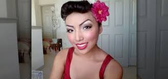 how to create a retro pin up makeup look for makeup wonderhowto