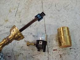 it is common to find a lamp wired with no ul knot not to worry you can put one in when you make the repair
