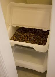 Ikea containers to use for pet food storage. I also these our recycling too! Very multi purpose and stackable!