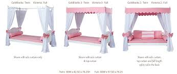 Victoria 2 Full Size Canopy Bed by Maxtrix (265.2)