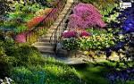Beautiful spring scenery wallpaper