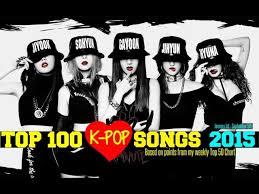 Top 100 K Pop Songs Of 2015 January September