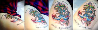 Ancora Retro Tattoo Minimal Ink