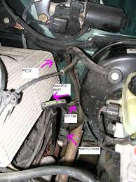 5 0 pcv valve swap ford explorer and ford ranger forums here is a picture of its location on the 302 v8