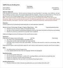 Science Resume Examples – Zippapp.co