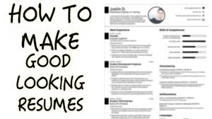 How To Create A Good Resume Easiest Way To Make a Good Looking Resume YouTube 11