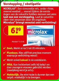 microlax werkt niet
