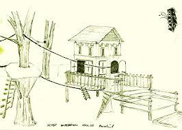 Tree House Blueprints Diy