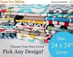 24 pillow covers. Beautiful Covers Kids Toys 15 OFF SALE 24 X Pillow Cover  One Choose  Your Own Design Single Sofa Decorative Throw  Throughout Covers O