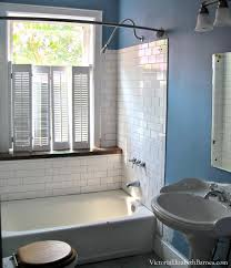 Big Bathroom Designs Gorgeous Solution To The Large Window IN The Shower Simple DIY Cover