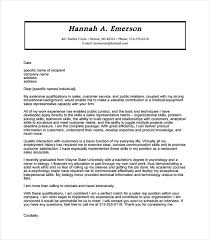 Medical Sales Cover Letter Sample 12 Sales Cover Letter Templates