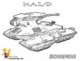 Small Picture Halo Combat Evolved Coloring Coloring Pages