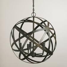 living beautiful rope orb chandelier