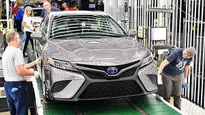2018 Toyota Camry Production Begins in Kentucky - The Drive