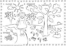 Spring Worksheets Kids Coloring Pages Free Printable Worksheets