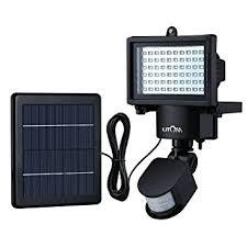 EPCTEK Solar LED Wall LightsWireless Security Light Motion Sensor Solar Sensor Security Light