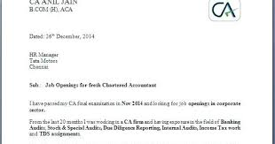 Cover Letter For Chartered Accountant Resume Also 3 Tips To Write