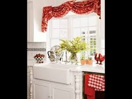 Creative Kitchen Curtain Ideas YouTube Classy Kitchen Curtain Ideas