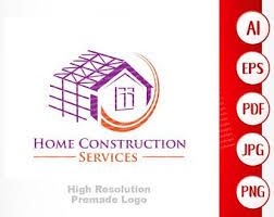 Construction Logo Etsy