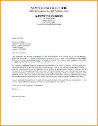 Hospital Social Worker Cover Letter Bar Work Cover Letter For
