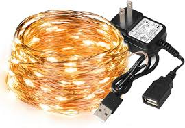 Usb Fairy Lights Sealight Led String Lights Fairy Lights Copper Wire Lights 33ft With 100 Leds Starry Lights Usb Powered Indoor Decorative String Lights For