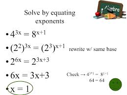 using logs to solve exponential equations math elegant solving exponential equations without logarithms mathematics jobs