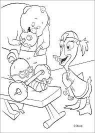 Small Picture Chicken little muscles coloring pages Hellokidscom