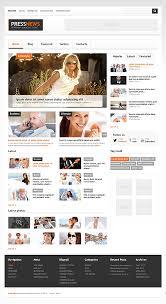 Website Template Newspaper Website Templates Media Top News Portal Newspaper Custom