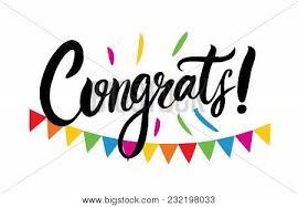 Congratulations Poster Congrats Hand Written Lettering For Congratulations Card
