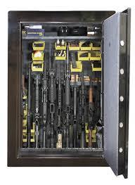 Stock On Gun Cabinet Steel 6 Gun Safe Retrofit Kit Comes With Back Panel Grids 6