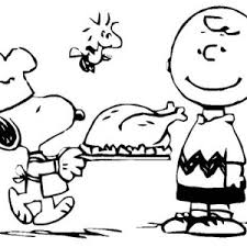 Charlie Brown Thanksgiving Coloring Pages Happy Easter