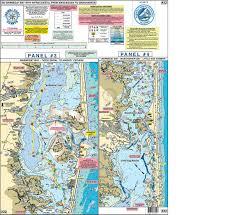 Home Port Chart 22 Manasquan Inlet Barnegat Bay Manahawkin Bay