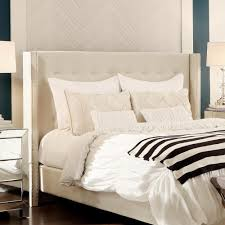 white queen size headboard. Perfect White HomeSullivan Franklin Park Cream White Queen Headboard For Size N