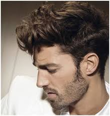amazing mens curly hairstyles side view