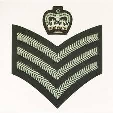 British Rank Insignia Chart British Army Ranks National Army Museum