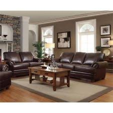 Brown leather sofa sets Golden Brown Coaster Colton Piece Leather Sofa Set In Brown Rooms To Go Coaster Leather Sofa Sets Ebay