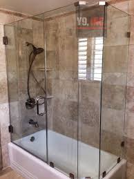 L Shaped Tub Shower Door