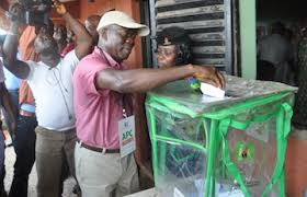 Image result for voters and ballot boxes in Nigeria