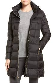 black puffy winter coat under 70