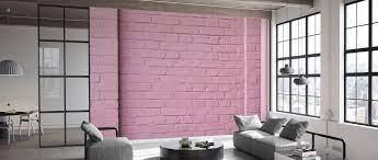 Pink Wall – affordable wall mural ...